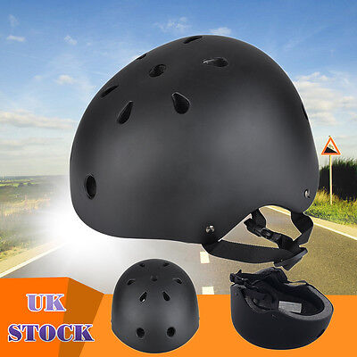Men Women Adult Bicycle MTB Road Bike Cycling Skate Helmet Safety Visor Black AU