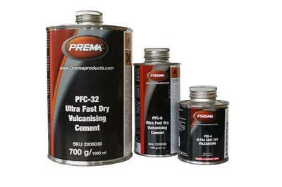 (4xTINS) Prema Tyre Repair Cement UFD-4 115ml Ultra Fast Dry Vulcanizing Cement