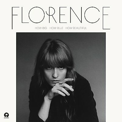 Florence + The Machine How Big, How Blue, How Beautiful DOUBLE VINYL LP NEW