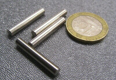 """18-8 Stainless Steel Dowel Pins 5/32"""" Dia x 1.00"""" Length, 20 Pieces"""