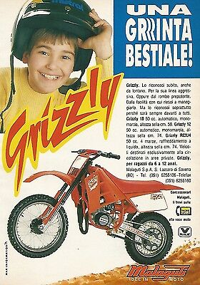 X0185 Malaguti Grizzly idee in moto - Pubblicità 1992 - Vintage Advertising