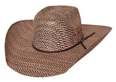 b6c586f58f998 New Bullhide Hats Rodeo Round-Up Collection Roughstock 50X Brown Cowboy Hat