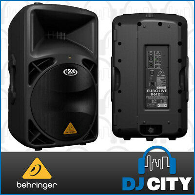 "Behringer EUROLIVE B612D 1500w 12"" 2 way Active PA Speaker System - Brand New..."