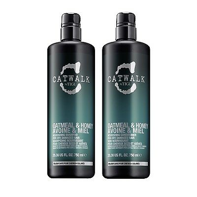 TIGI Catwalk Oatmeal&Honey Nourishin Shampoo 750ml + Conditioner 750ml Tween Duo