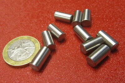 """18-8 Stainless Steel Dowel Pins 1/4"""" Dia x 1/2"""" Length, 30 Pieces"""