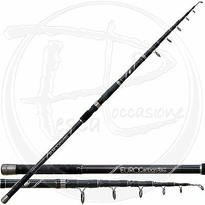 canna da carpfishing in carbonio telescopica 3 LBS professionale pesca carp INA