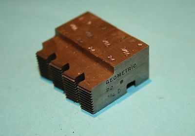 """Geometric 7/16""""-24 Ground Chasers For 9/16"""" D, Ds, Dsa Die Head"""