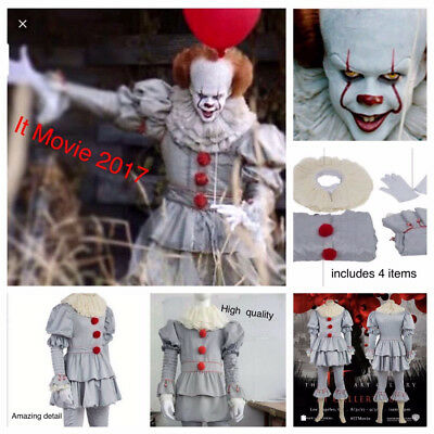 Cosplay Costume Clown Costume Customized Halloween Suit Pennywise Lebron James