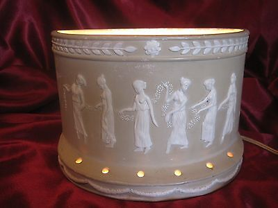 Vintage Wedgwood Style Table Sconce, Unique!