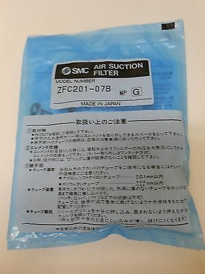 New Smc Zfc201-07B Zfc Vacuum Filter With Fitting