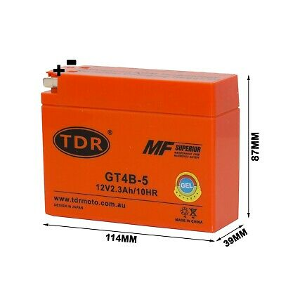 Yt4B-Bs Gt4B-5 Mbt4B-B Mbt4Bb Moto Battery For Drz70 Ttr50 Ttr90 Ttr110