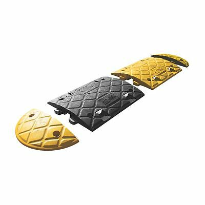 NEW JSP Speed Bump Ends 50mm Yellow 400mm