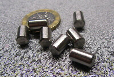 18-8 Stainless Steel Metric Dowel Pins M6 Dia x 10mm Length, 25 Pieces