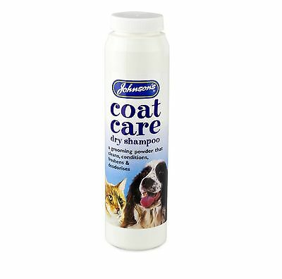 Johnsons coat care Dry Shampoo Cats & Dogs 85g - Posted Today if Paid Before 1pm