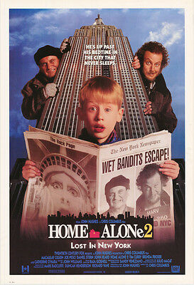 Poster: Movie Repro: Home Alone 2 - Lost In New York - Free Ship  #6311   Rw24 P