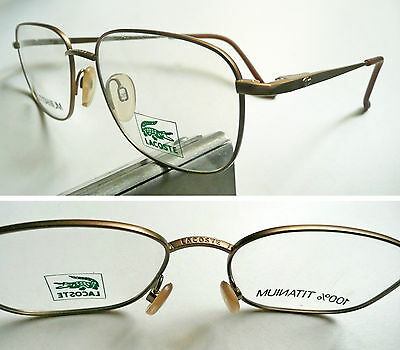 3874459f945 LACOSTE LAMY MADE in France occhiali vintage frame eyeglasses 1980 s ...