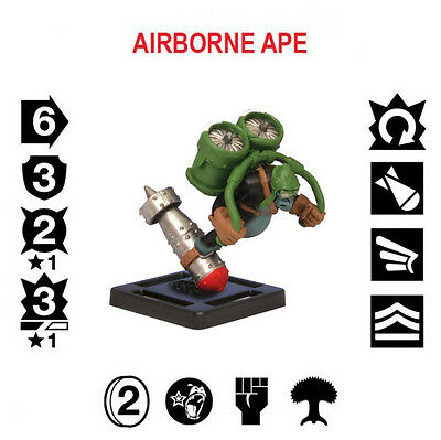 Monsterpocalypse - Empire of the Apes Unit - Airborne Ape Elite - Now