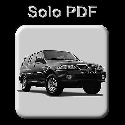 Ssangyong Musso (1993-2005) - Workshop, Service, Repair Manual - Wiring