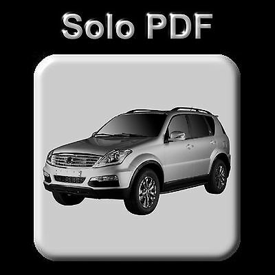 Ssangyong Rexton - All Models (2001-2014) - Workshop Manual - Wiring - Owner's