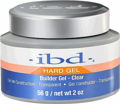 IBD UV Clear Builder Gel  - 56 g / 2 fl oz - Hard Gel 60402