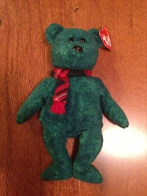 Ty Beanie Original Baby Wallace The Bear NWT in Mint Condition Rare