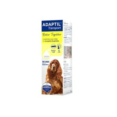 Ceva - Adaptil Dog Canine Appeasing Pheromone Spray Stress Reducing 60ml Bottle