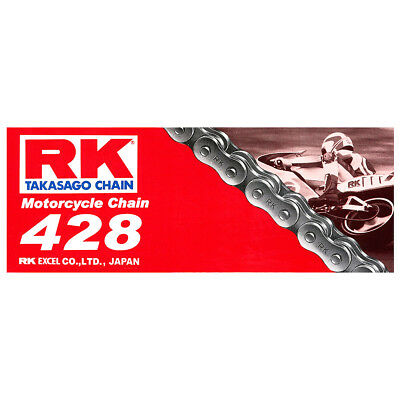 Rk Chain 428-120L-Std Roller On & Off Road Use - Dirt Bike