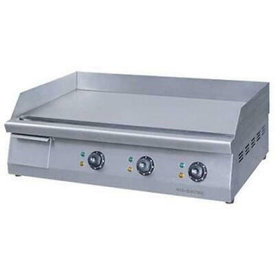 Electric Griddle / Hotplate with Triple Control, 760mm Wide, ElectMax Commercial