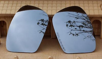 ACOMPATIBLE Polarized Lenses Replacement for-Oakley Chainlink  Silver Mirror