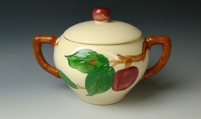 Franciscan APPLE (No Mark) Sugar Bowl with Lid EXCELLENT