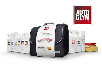 Autoglym Perfect Bodywork Wheels & Interior Collection Kit Car Care Cleaning Set