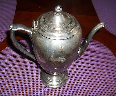Vintage Forbes Silver Co.tea Pot 584 Grams Silver Plate  No Problem