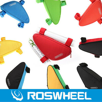 Roswheel Triangle Bag Cycling Bicycle Front Tube Frame Bag Bike Pouch Pannier