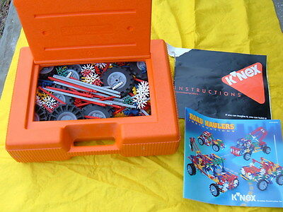 K'NEX Pieces & Parts, Wheels - LOT of 250+ and Case