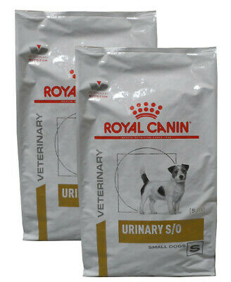 2x8kg Royal Canin Urinary S/O Small Dog  Veterinary Diet Hundefutter
