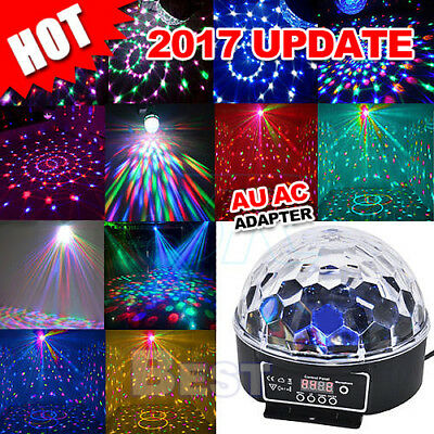 Crystal Magic Ball Laser Stage Light Party Disco DJ Bar Lighting Show DMX