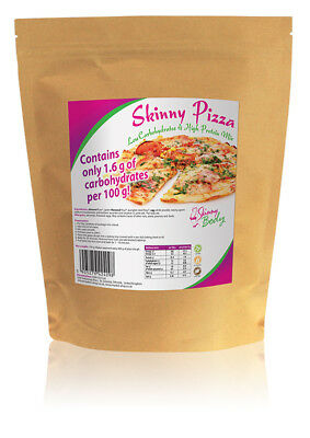 Low Carb Pizza - Ready Mixture 150 g, High Protein, Gluten Free, Low Fat