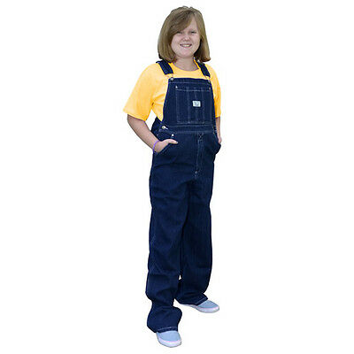 West End Blues Boys or Girls Bib Overalls & Yellow T-Shirt Set - Sizes 4 to 18
