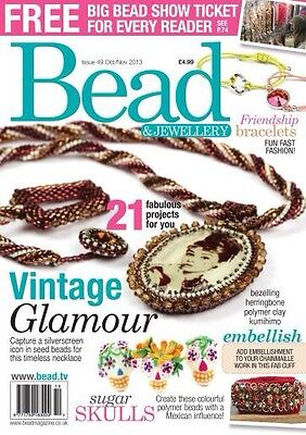 Bead And Jewellery magazine Issue 49 October/November 2013