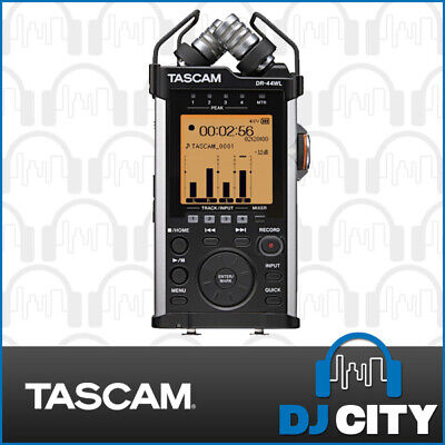 DR-44WL Tascam Portable Handheld Recorder with WiFi - DJ City Australia