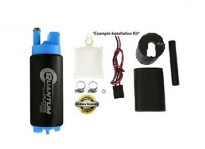 QFS 340LPH Intank Fuel Pump w/Install Kit Stealth TOYOTA SUPRA TURBO MR2 CELICA