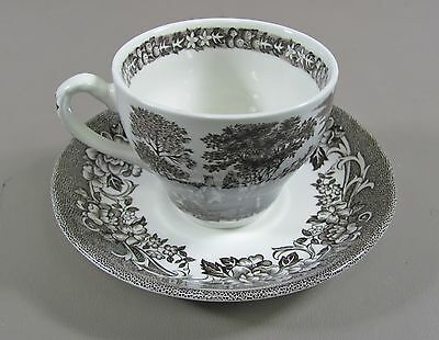 J&G Meakin China STRATFORD STAGE Cup&Saucer Set(s) Multi Avail