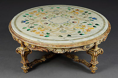 Highly Interesting Coffee Table Italian Baroque Style