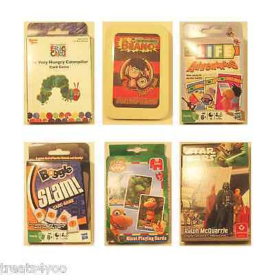 Playings Cards  & Travel Games Beano Star Wars Boggle Slam Trivial Pursuit Steal