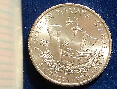 2009-P Philadelphia Mint Mariana Islands Territorial Quarter BU SMS