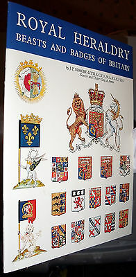 Royal Heraldry Beasts and Badges Illustrated History 24 Pages Royalty Paperback