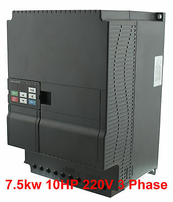 7.5KW 10HP VFD 32A 220V  Variable Frequency Drive inverter PID New High Quality