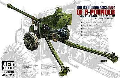 1/35 AFV CLUB British Mk 4 6pdr Anti-Tank Gun AFV35217