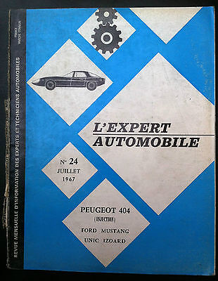L'EXPERT AUTOMOBILE n°24; Peugeot 404 injection