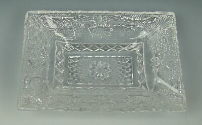 Duncan & Miller Glass SANDWICH-CLEAR Ashtray(s) Multi.Avail. EXCELLENT
